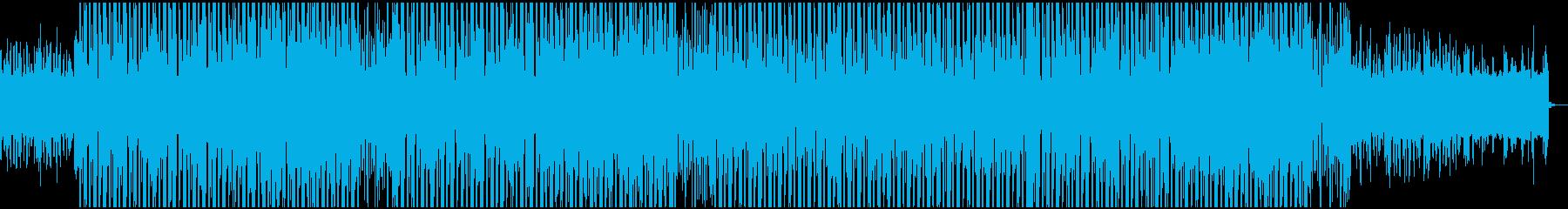 クールで軽快なbassmusic系EDMの再生済みの波形