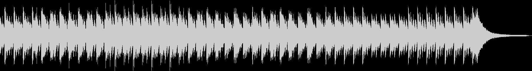 童話的な明るいピアノ音源の未再生の波形