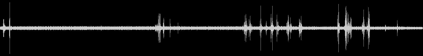 早朝の風鈴と蟬と鳥の音 01の未再生の波形