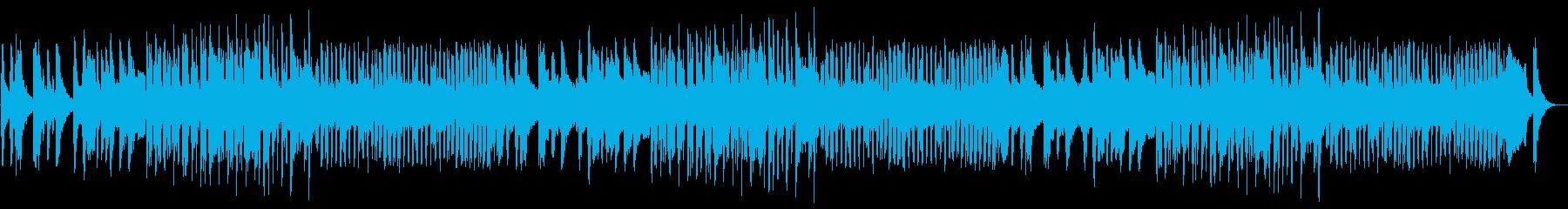 チェンバロ、フルート、ハープが特徴...の再生済みの波形