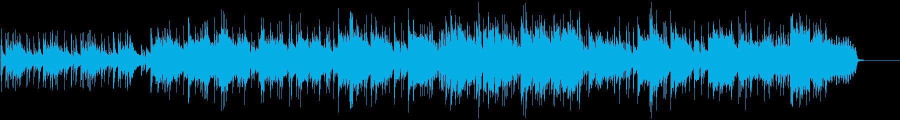 穏やか・爽やかなアコーディオンのボサノバの再生済みの波形