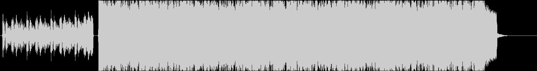 ラウドロック系イントロ風BGMの未再生の波形
