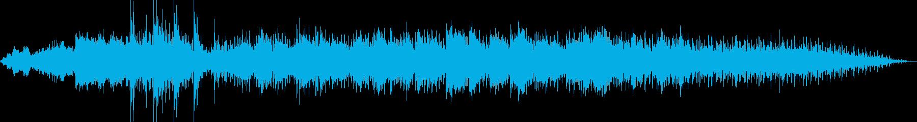 これはアイルランドの歌、ダニー・ボ...の再生済みの波形