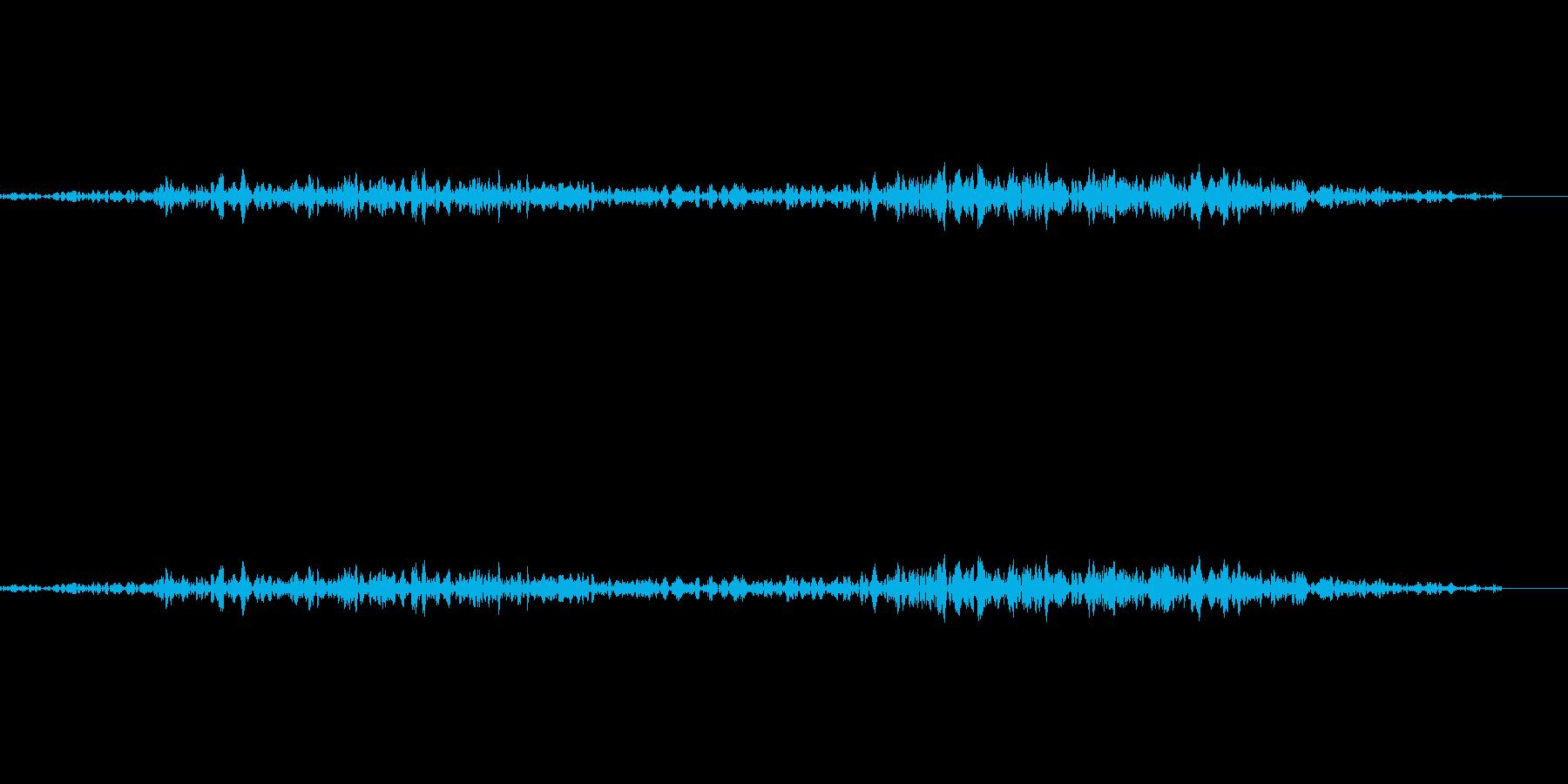ゴシゴシと何かを擦っているような音です…の再生済みの波形