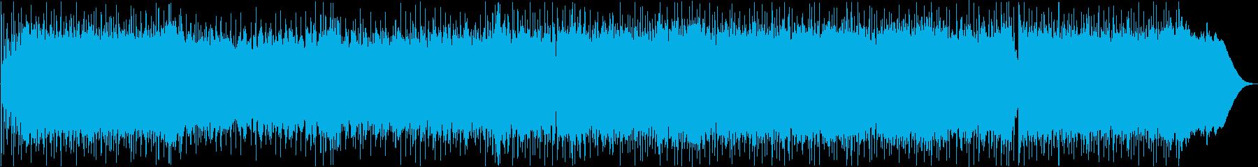 疾走感あるキャッチ―なロックギターBGMの再生済みの波形