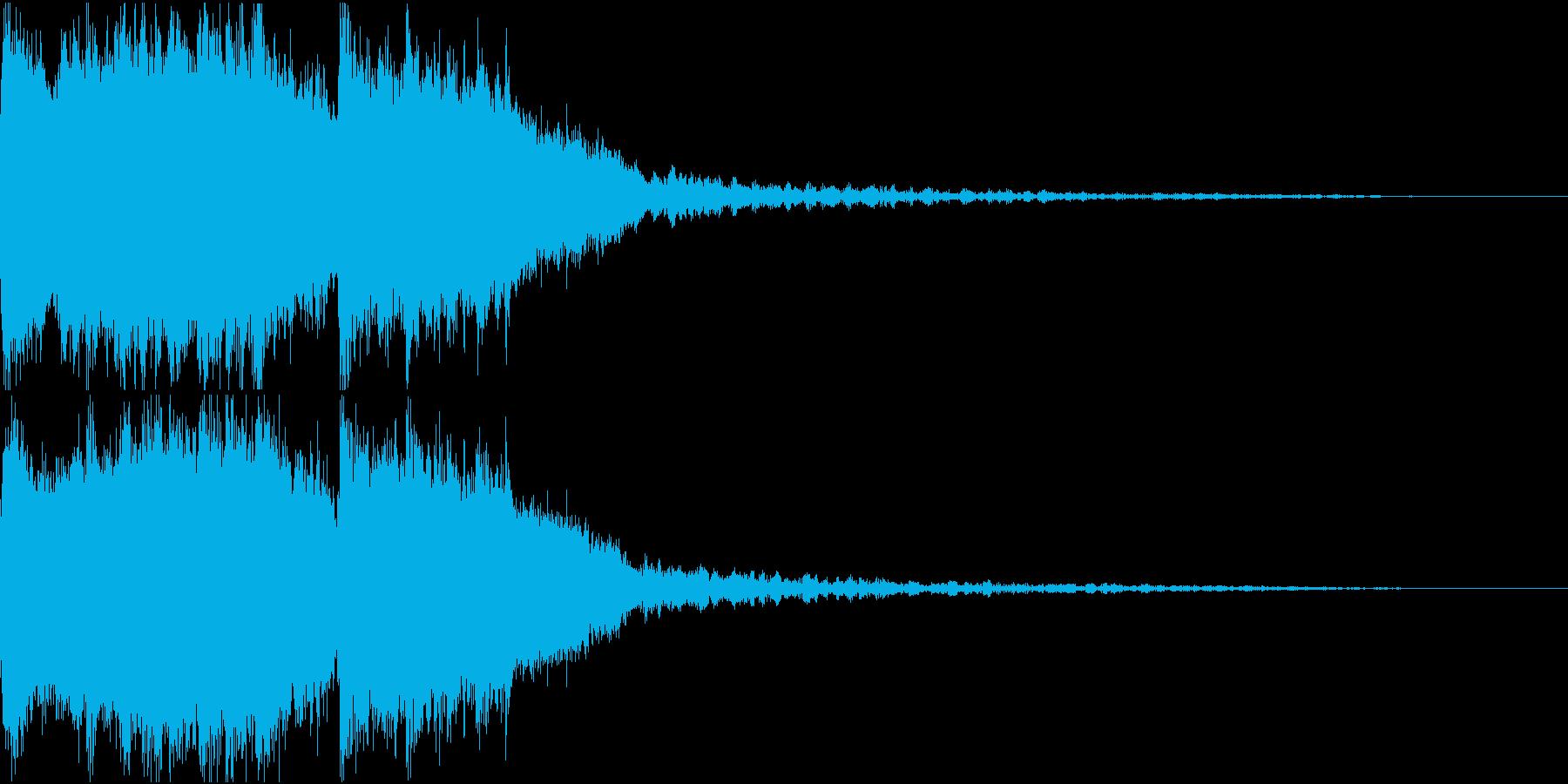 豪華なファンファーレ 達成 成功 Fの再生済みの波形