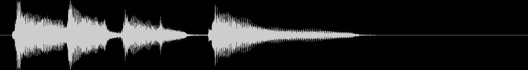 CMあけで流れそうなウクレレ2の未再生の波形