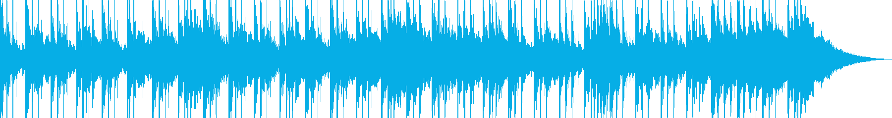 【CM】 悲しみ漂うメロディの再生済みの波形