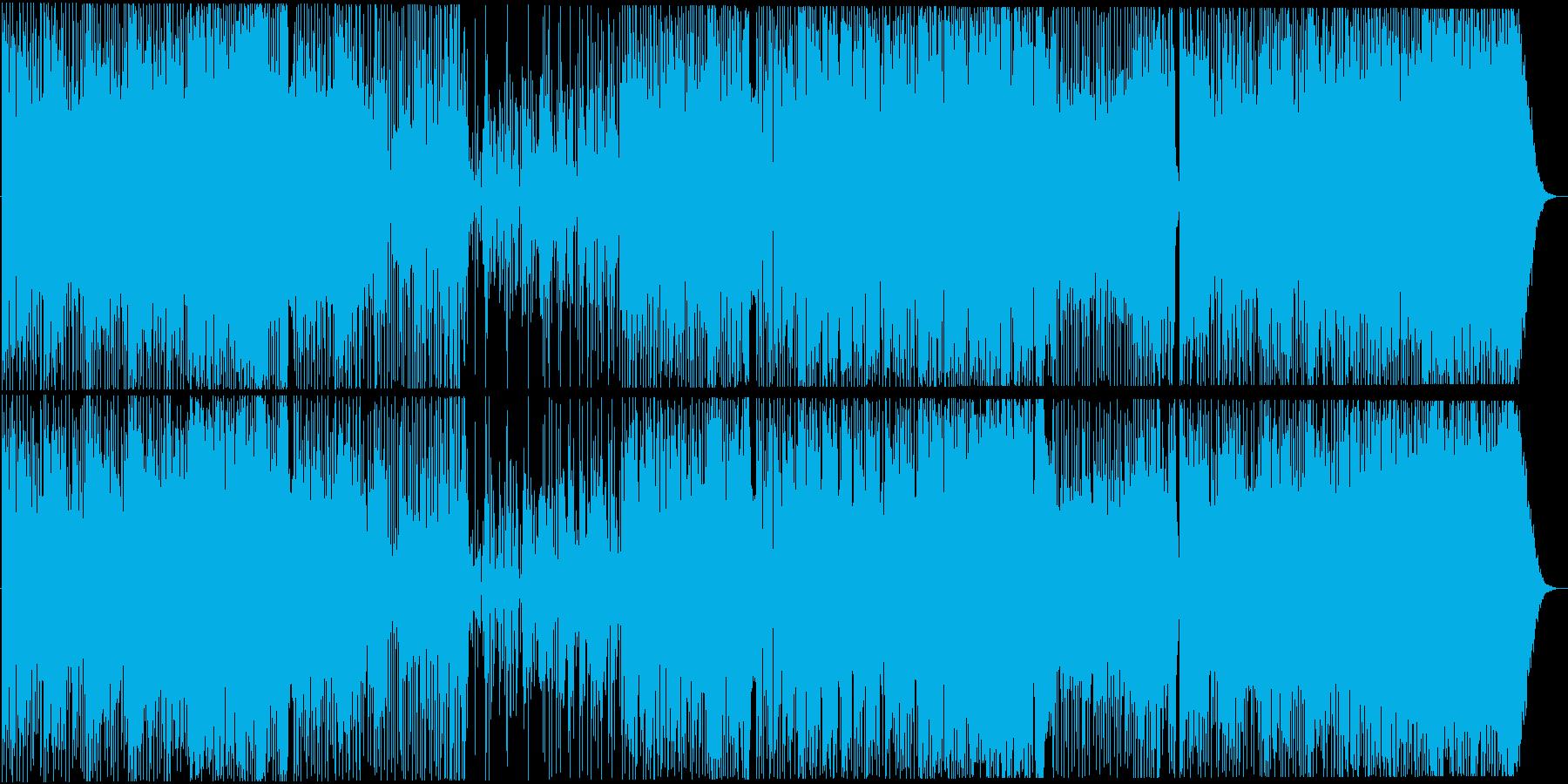 ファンキーなスムーズJAZZ(日米録音)の再生済みの波形