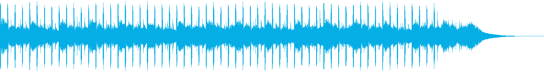 ヘルスケア(ショート1)の再生済みの波形