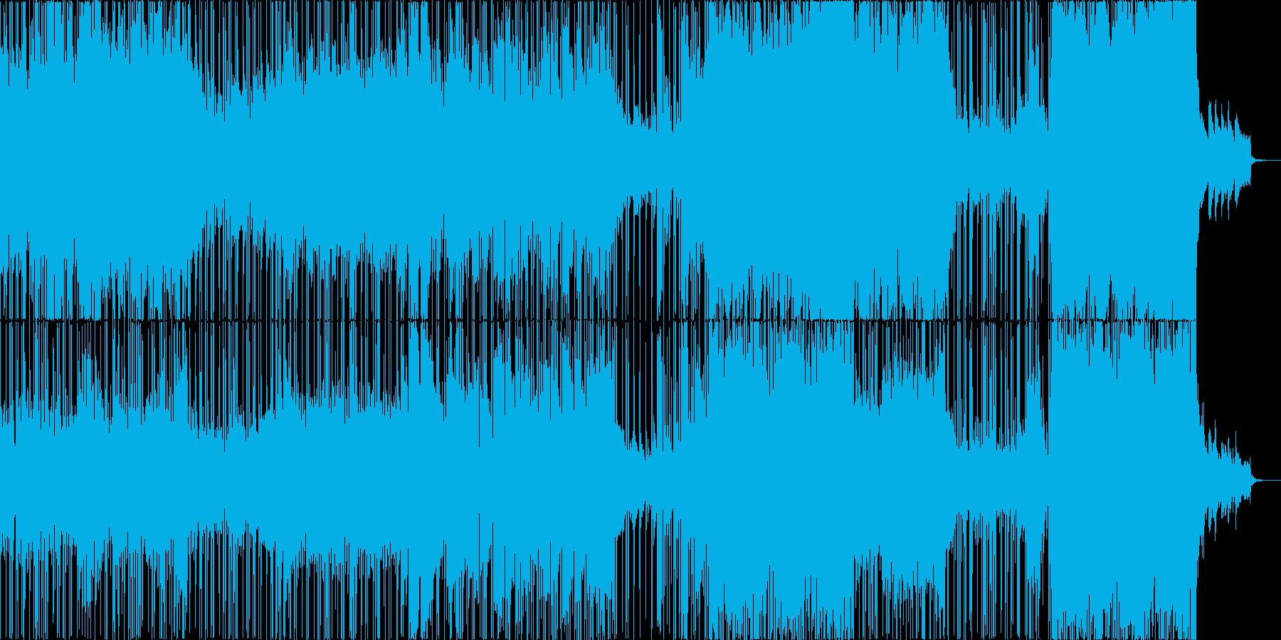 ゲーム音楽・6/8拍子・ノスタルジックの再生済みの波形