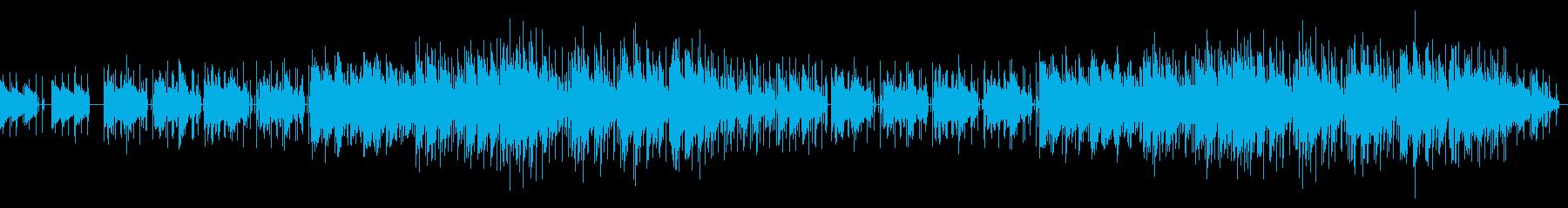 爽やかなポップ、お洒落サウンドの再生済みの波形