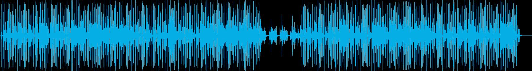 ジャジーなHip-Hop 秋の黄昏の再生済みの波形