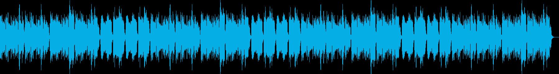 ほのぼの/かわいい/シンプル/木琴の再生済みの波形