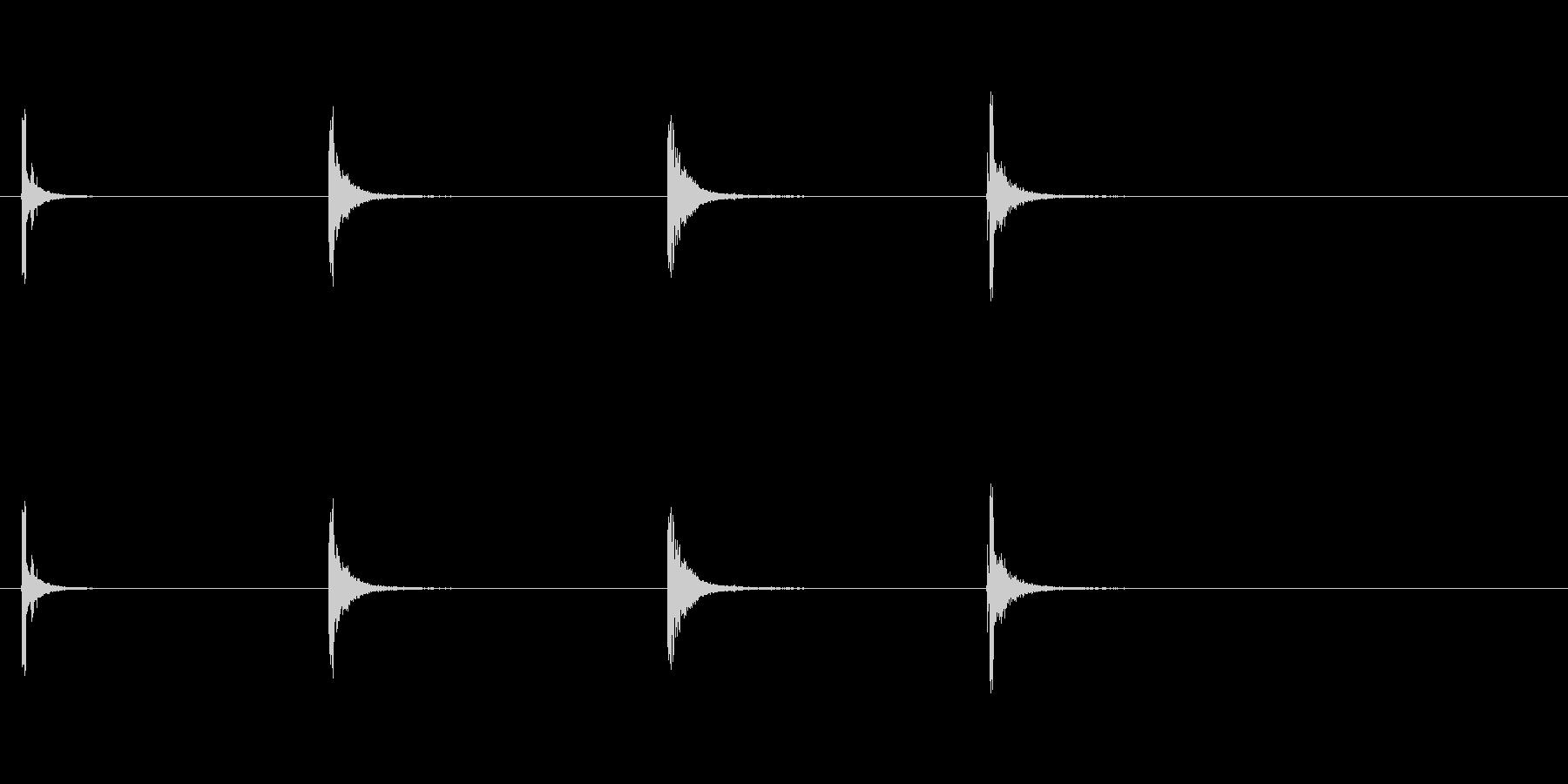 花火-ロケット3の未再生の波形