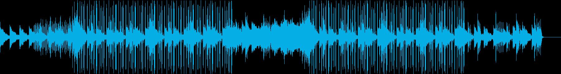 おしゃれなLofiHiphopの再生済みの波形