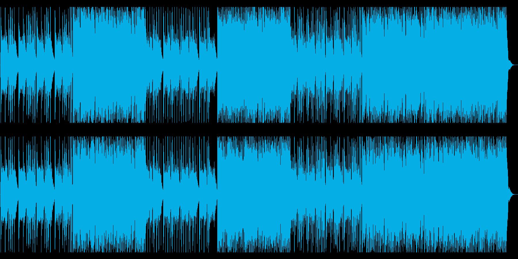 じわじわと無気味に迫るBGMの再生済みの波形