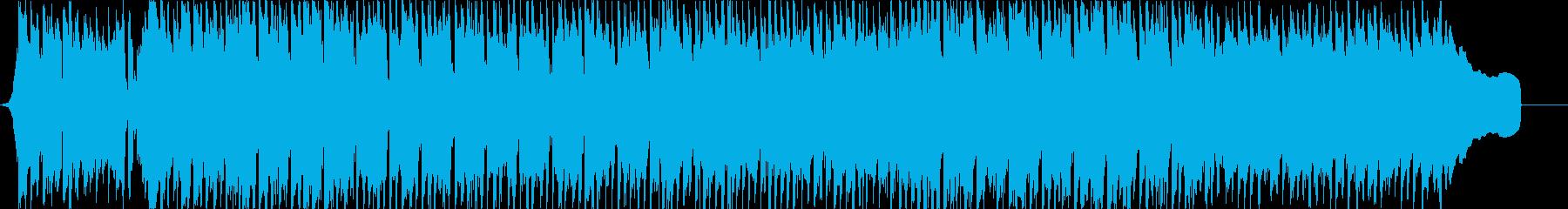 楽しいおしゃべりを演出するフォーク1フルの再生済みの波形