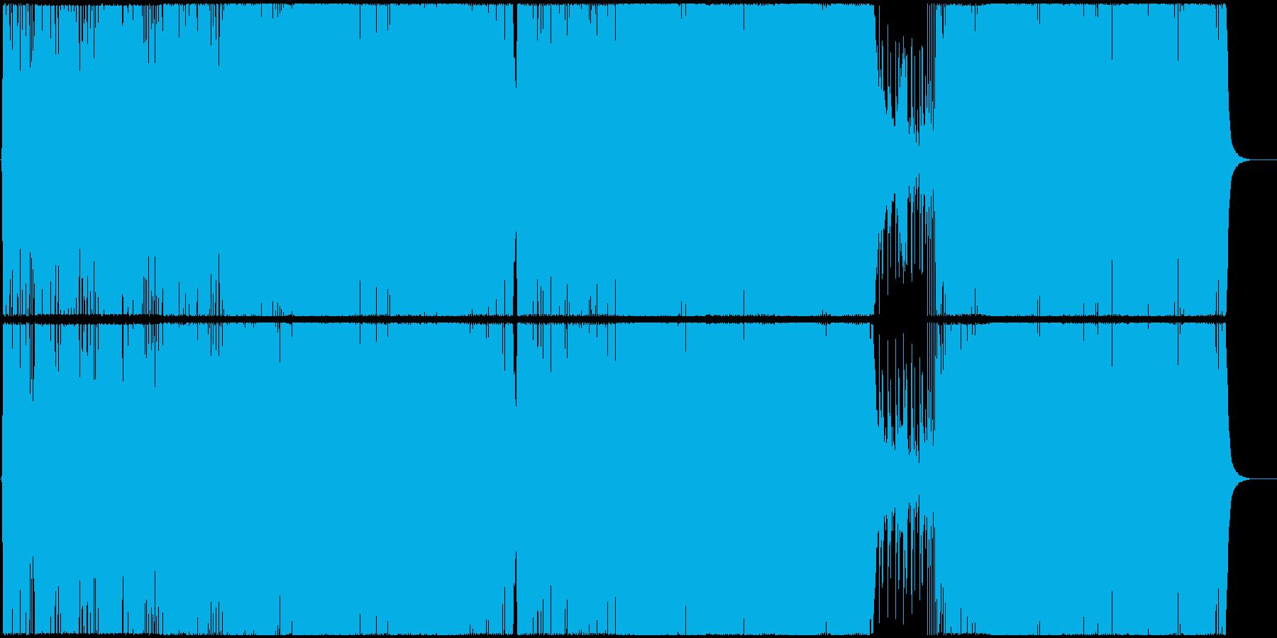 ハッピー・マンチェスターの再生済みの波形