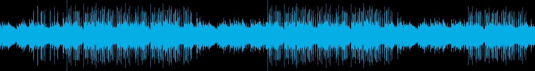 幻想的・オルガン・洋館・ホラー・ループの再生済みの波形