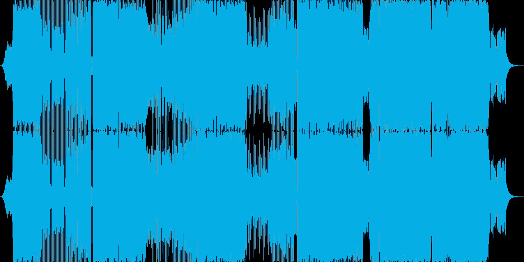 ユーフォリアの再生済みの波形
