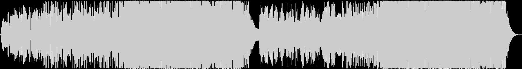 展開が大きいピアノEDMの未再生の波形