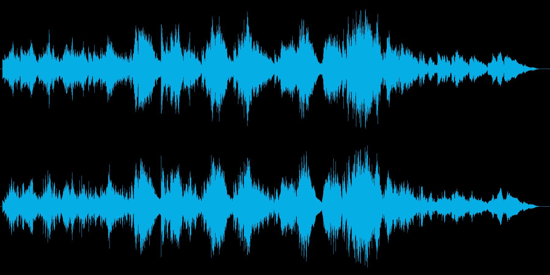 ソプラノサックスとキーボードのデュオ・…の再生済みの波形