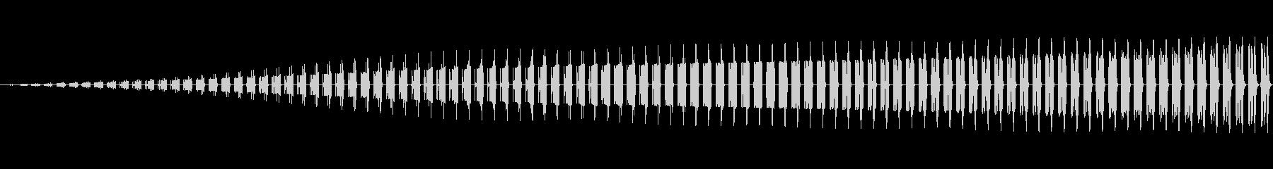 ブー(警告/危険/ワープ/8ビット/特殊の未再生の波形