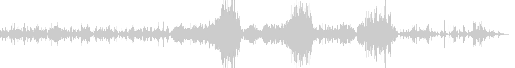 ショパン前奏曲第15番「雨だれ」の未再生の波形