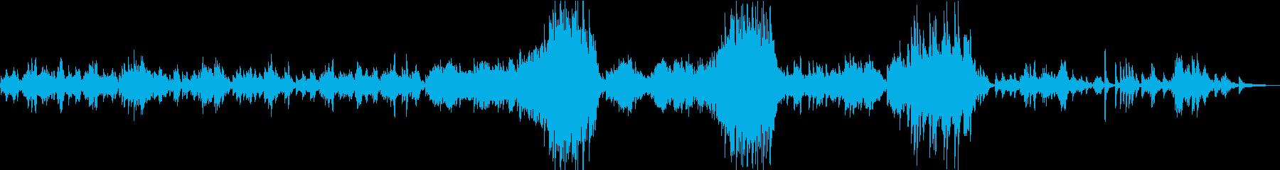 ショパン前奏曲第15番「雨だれ」の再生済みの波形