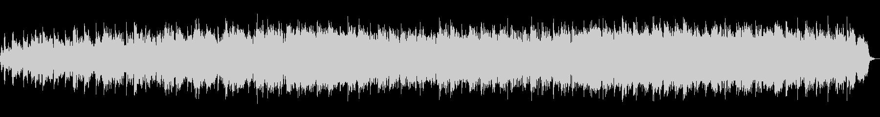生フルート!パッヘルベルのカノン、弦楽の未再生の波形