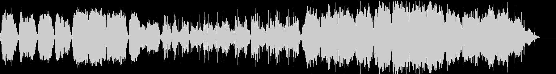 ケルトのホイッスルとハープの柔らかな曲8の未再生の波形