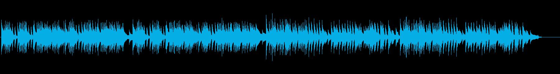 [生演奏]バッハのメヌエット チェンバロの再生済みの波形