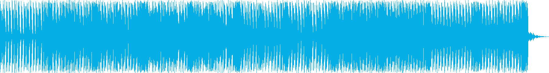 軽快で力強いリズムが印象的なポップスの再生済みの波形