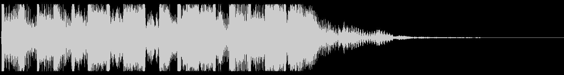 元気 楽しい スカロック ジングル④の未再生の波形