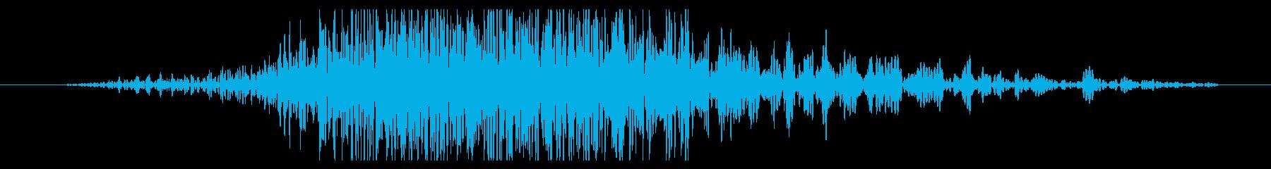 斬撃 ディープスコールヘビー03の再生済みの波形