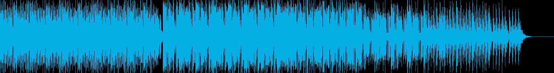 スローなテンポまったり系チルアウトの再生済みの波形