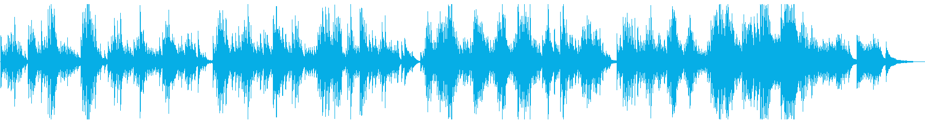 静けさと穏やかさを感じるピアノ曲ですの再生済みの波形