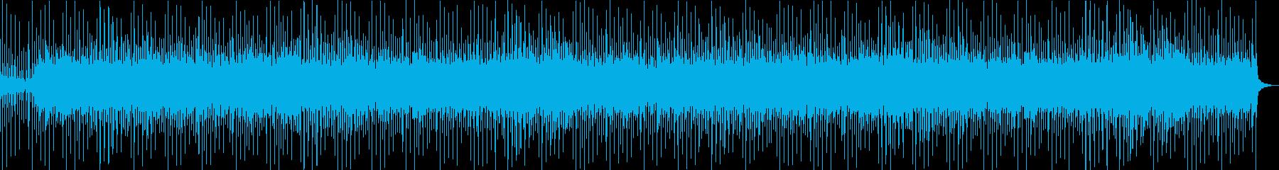 カントリー風スライドギターの再生済みの波形