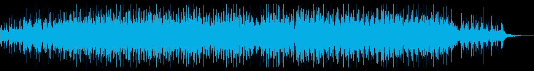 おしゃれかわいいウクレレの再生済みの波形