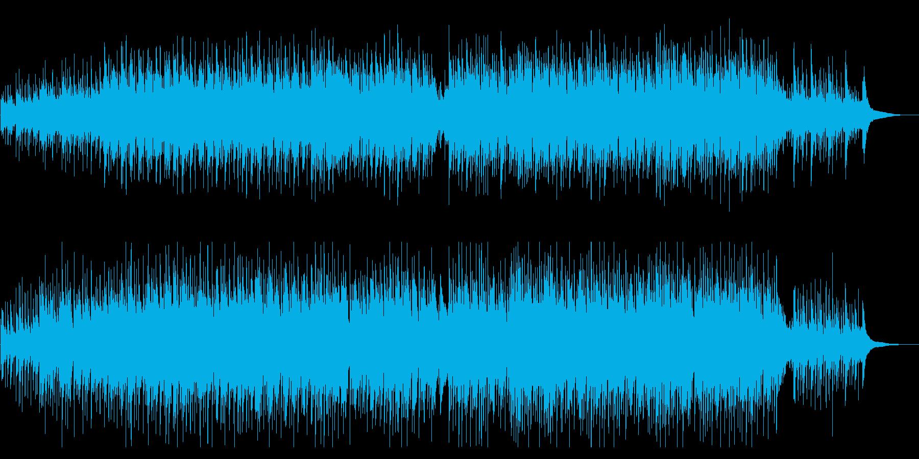 CMやVPに おしゃれかわいいウクレレの再生済みの波形