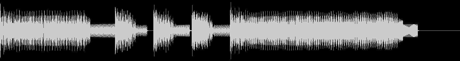 ★ファミコン風ゲームクリアBGM2   の未再生の波形