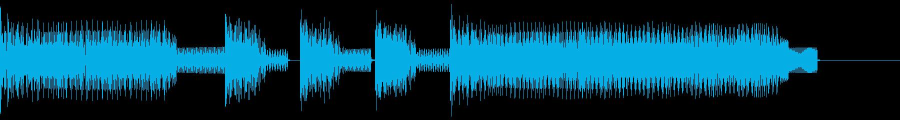 ★ファミコン風ゲームクリアBGM2   の再生済みの波形
