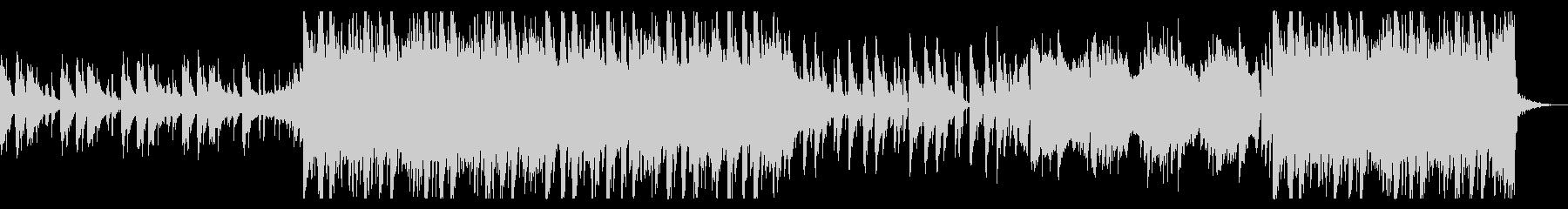エモ・冷たい・ピアノ・洋楽・ヒップホップの未再生の波形