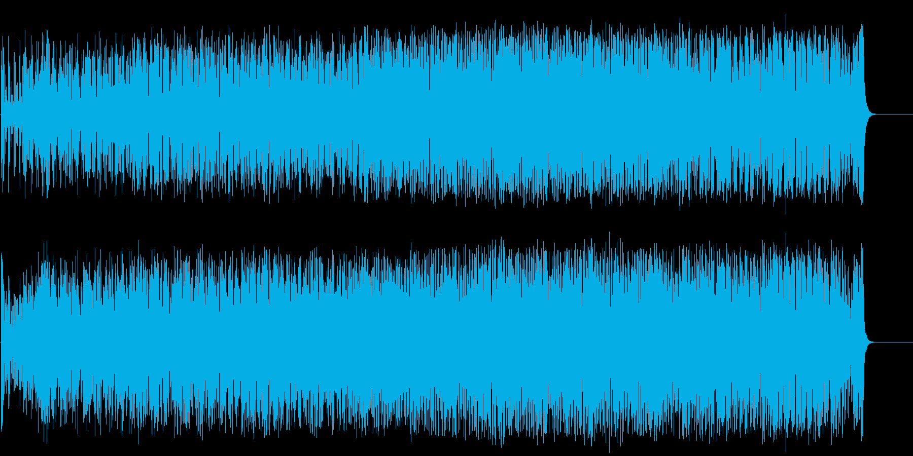 スリリングでダンサブルなポップ/テクノの再生済みの波形