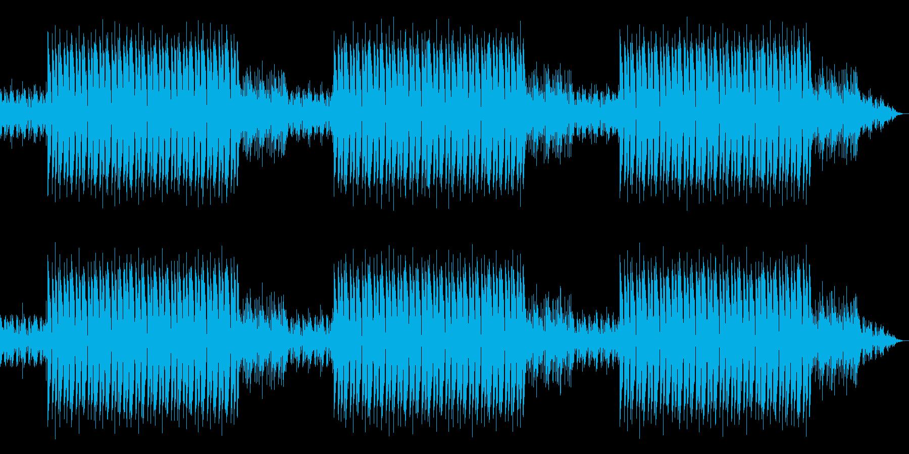 自然と体が揺れるヒップホップBGMの再生済みの波形
