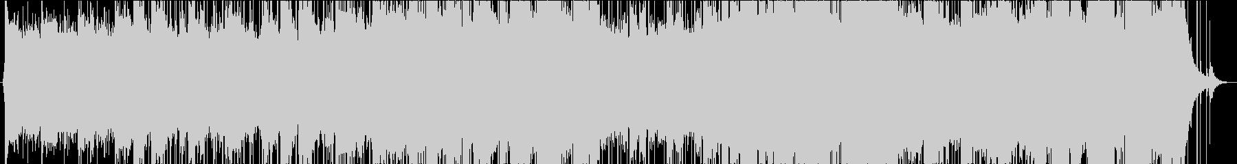 伝統的なロック楽器と電子音の現代的...の未再生の波形