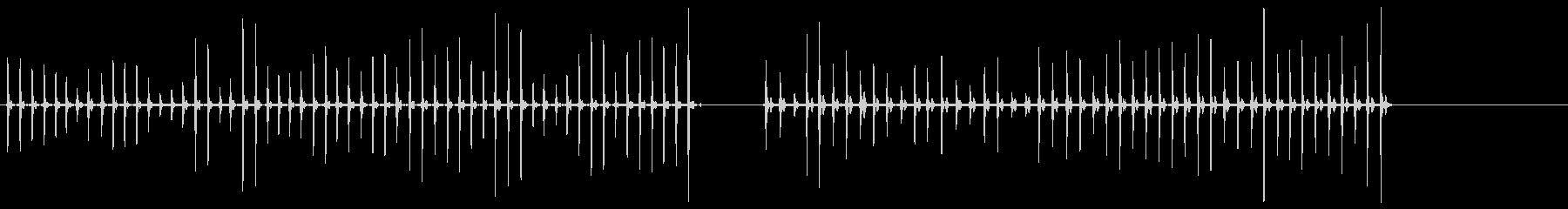 ステップ-ストンプ-動物-人工-2...の未再生の波形