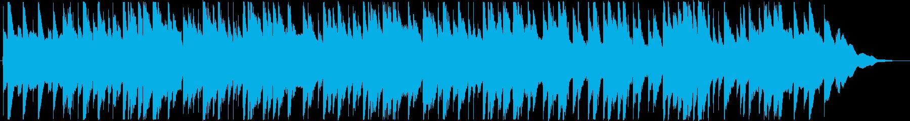 黄昏をイメージしたアコギインストの再生済みの波形