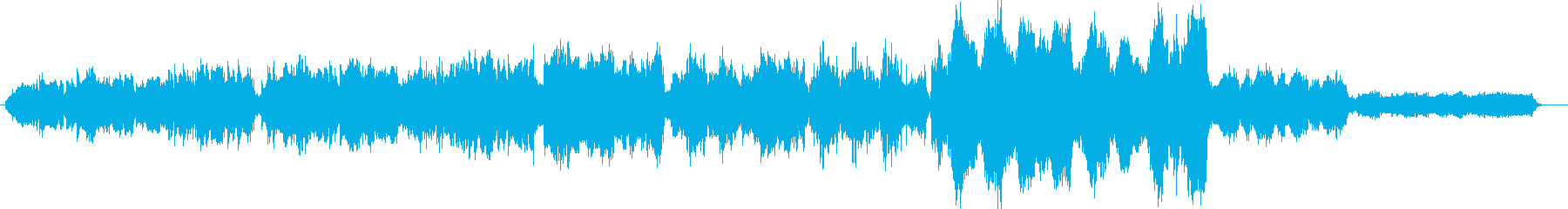 Te Deumの前奏曲の再生済みの波形
